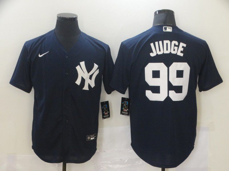 Cheap Men New York Yankees 99 Judge Blue Game Nike MLB Jerseys